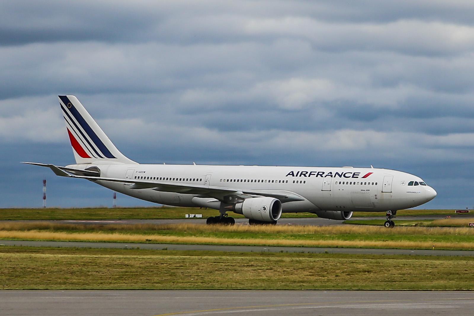Airbus A330-200 авиакомпании Air France в аэропорту Париж Шарль-де-Голль