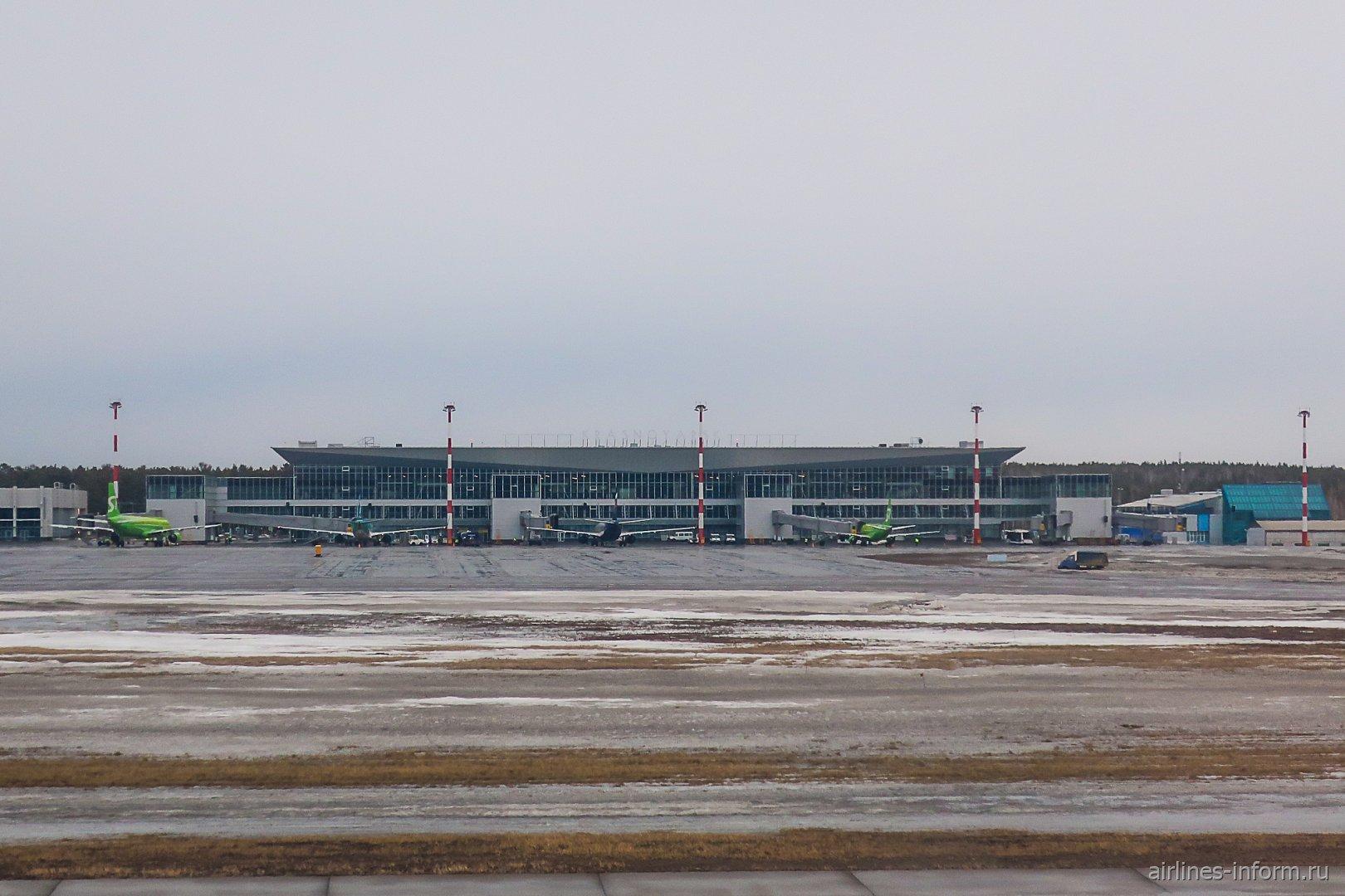 Пассажирский терминал 1 аэропорта Красноярск