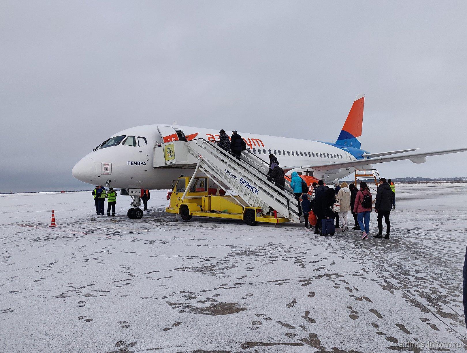 Брянск-Сочи а/к Азимут