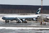 Москва-Гонконг с Cathay Pacific