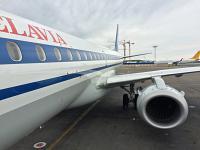 Путешествие в Одессу! Часть 1: Москва (DME) - Минск (MSQ) на Embraer E195LR Belavia.