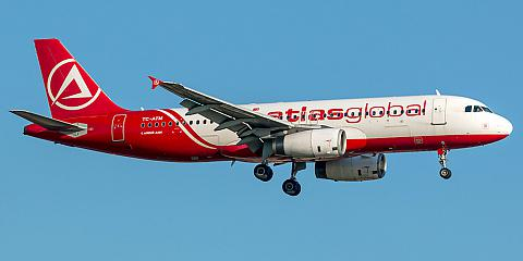 Atlasglobal. Airline code, web site, phone, reviews and opinions.