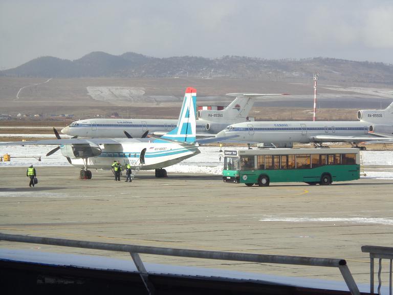Фотообзор авиакомпании Ангара (Angara Airlines)