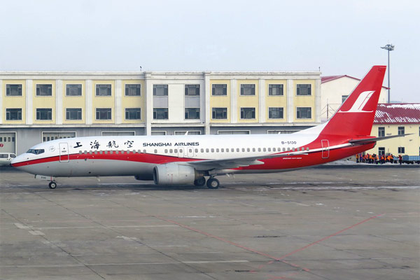 Харбин - Шанхай, рейс FM 9172 а/к Shanghai Airlines