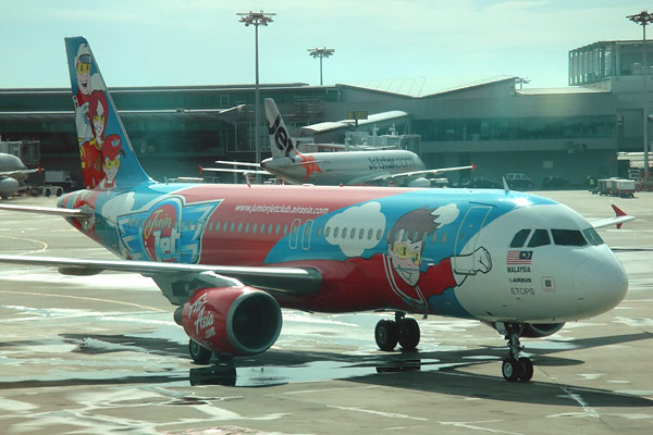 AirAsia - из Сингапура в Куала-Лумпур