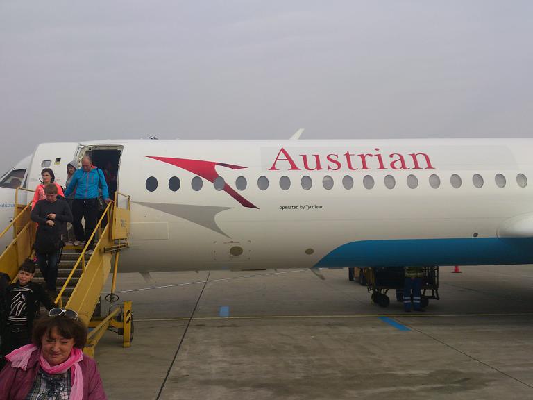 Фотообзор полета на самолете Fokker 100