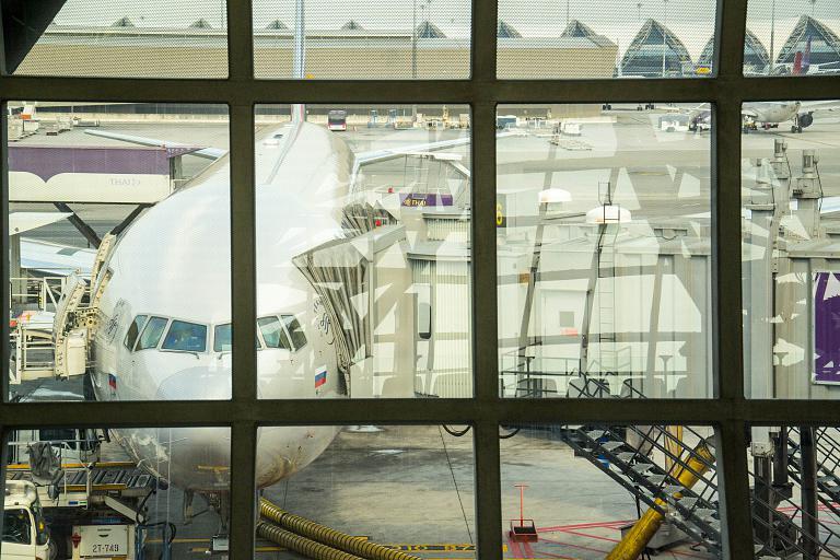 Приятный сюрприз от Аэрофлота: Бангкок BKK - Москва SVO в Бизнес-классе.