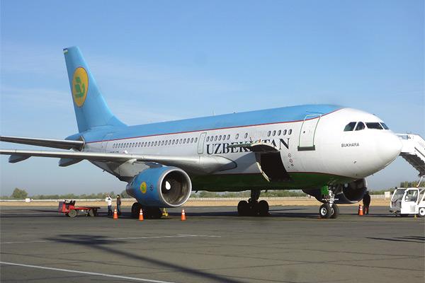 Ташкент-Самарканд с Узбекскими авиалиниями