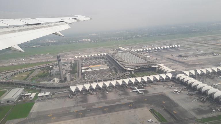 Домой на новом рейсе от s7, BKK-VVO. Boeing 767-300.