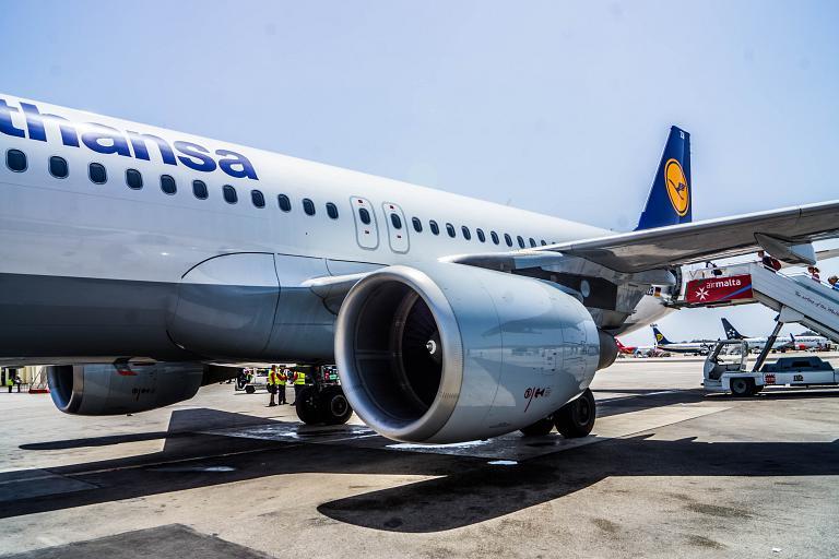 Malta Luqa - München Franz Josef Strauß Lufthansa