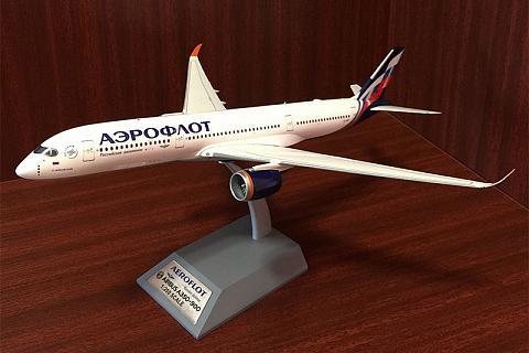 "Inflight 200, 1:200, Airbus A 350-941, ""Аэрофлот"" VQ-BFY"