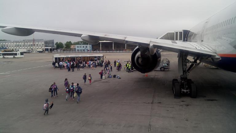 Москва-Хабаровск (SU1710, Аэрофлот), эк.класс
