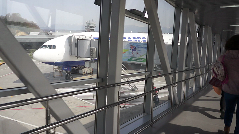 Из олимпийского Сочи на Боинг 777-200 Трансаэро (2-я часть)