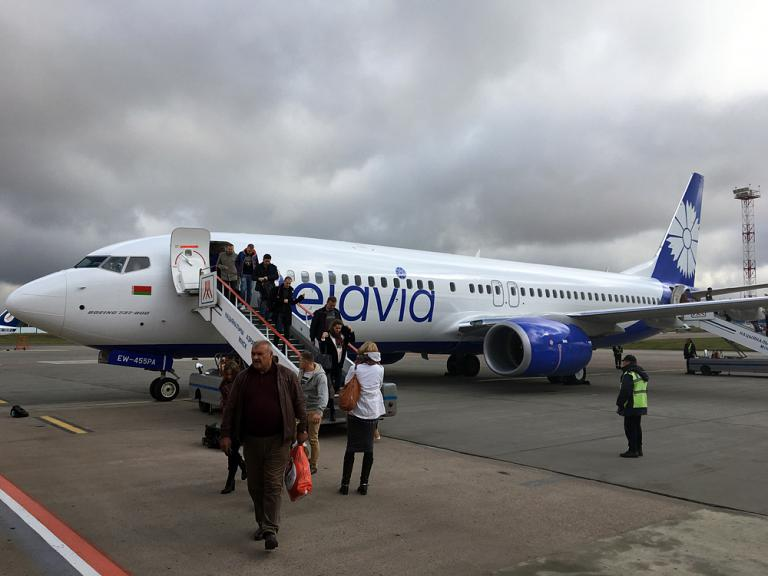 #newbelavia. Жуковский - Минск с авиакомпанией Белавиа.