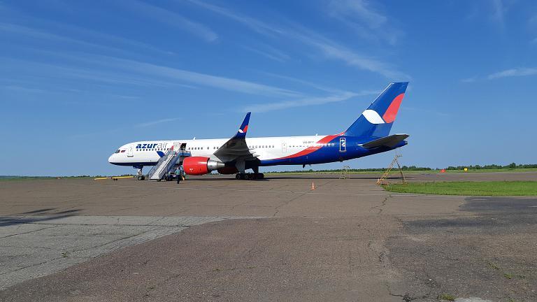 Благовещенск - Нячанг (Камрань) с AZUR air на Boeing 757-200