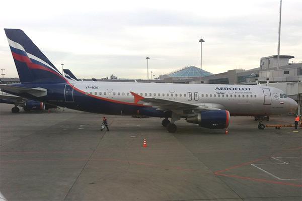 Москва - Калининград на А320 а/к Аэрофлот