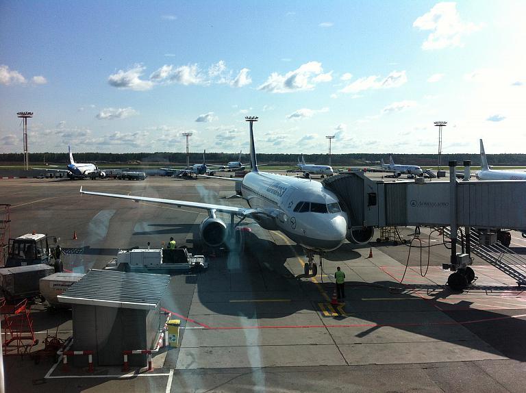 Из Москвы в Лиссабон и обратно со Star Alliance. Часть первая: Москва-Мюнхен с Lufthansa