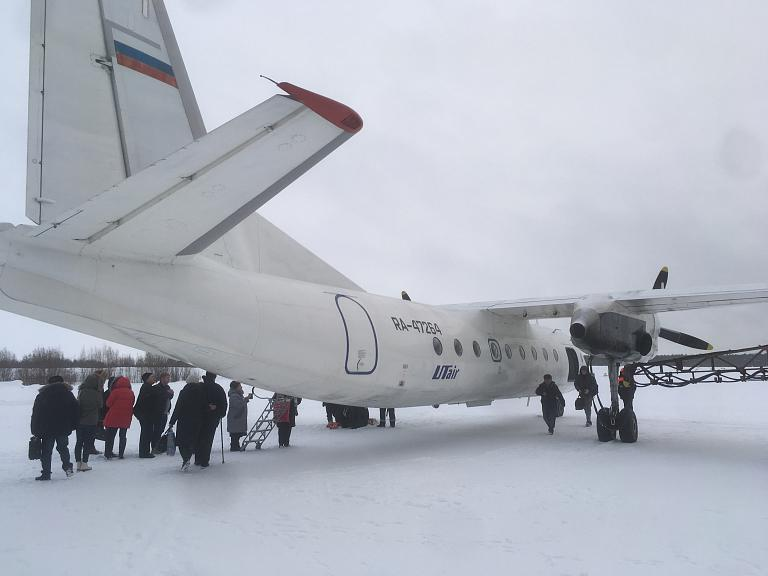 Из Белоярского в Тюмень через Берёзово с Utair