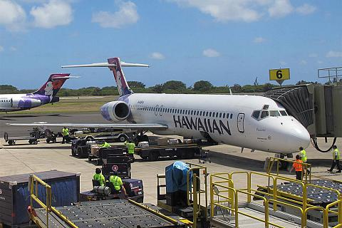 Фотообзор полета на самолете Boeing 717