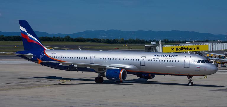 Vienna - Moscow SU2185 Aeroflot
