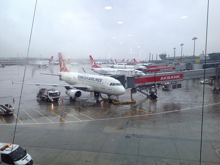 Перелёт из Ивано-Франковска в Запорожье. Предновогодний переполох в трёх частях. Часть 3: IST-OZH c Turkish airlines