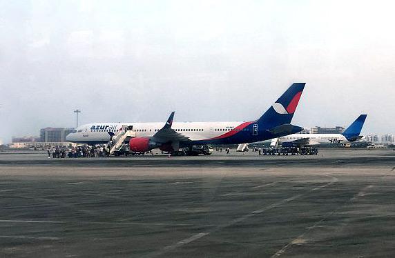 Обратный перелет Санья (SYX) - Новосибирск (OVB) Azur Air на B757-200