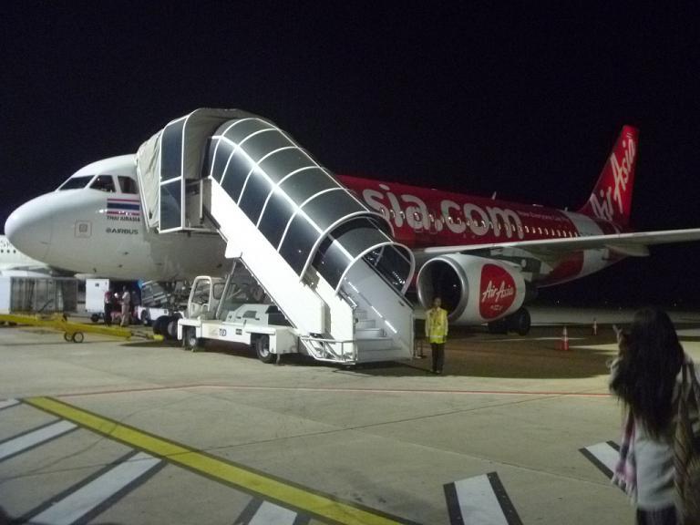 Из Европы в Азию и обратно. Часть 6. Сием Реап - Бангкок (DMK) на Airbus A320 Thai AirAsia.