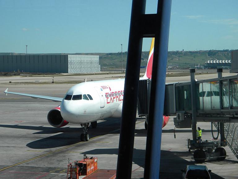 Фотообзор аэропорта Мадрид Барахас