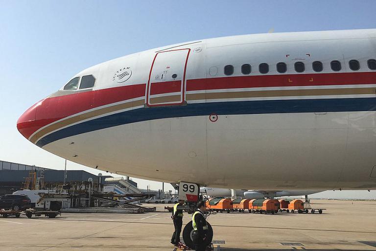 Путь домой. Часть 1. Денпасар(DPS)-Шанхай(PVG) c China Eastern Airlines.
