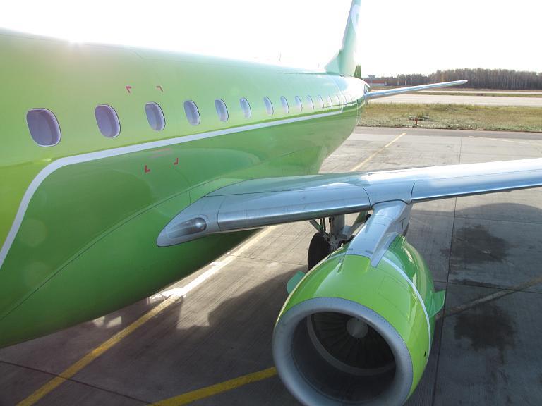 Фотообзор полета на самолете Embraer 170