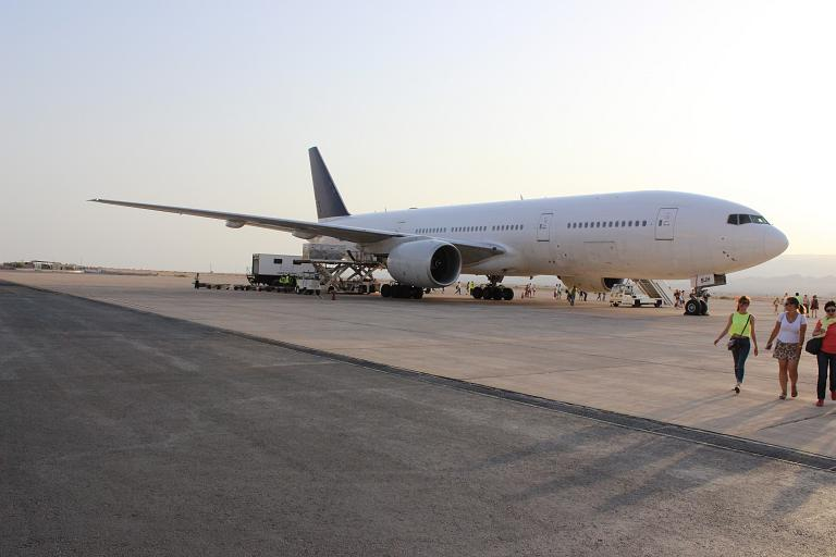 Летний отпуск. Часть 2 - Moscow (Sheremetyevo E - SVO) - Aqaba (King Hussein - AQJ) с Nordwind Airlines на Б-777-200 (бизнес-класс)