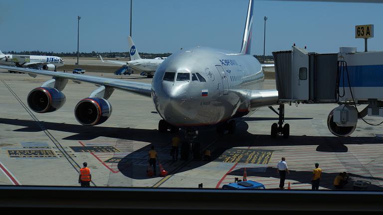 На ИЛ 96-300 в Москву