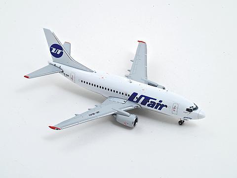 GeminiJets: Boeing 737-500 UTair в масштабе 1:400