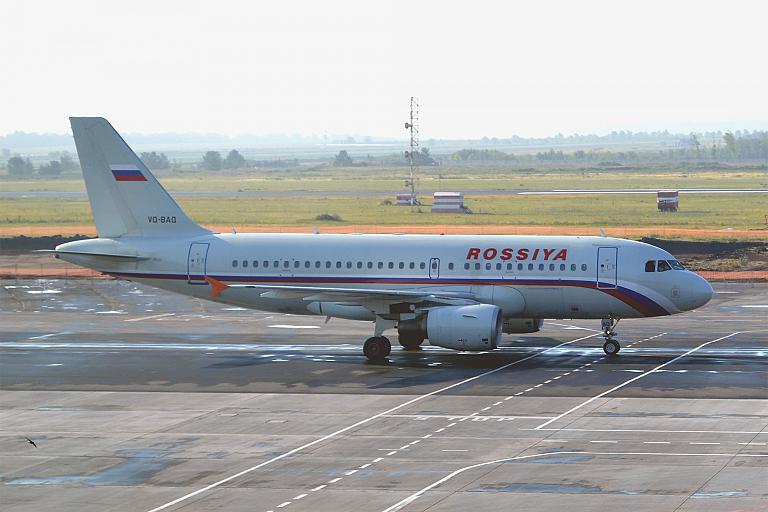 Фотообзор авиакомпании Россия (Rossiya Airlines)