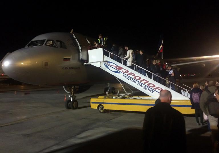 Навстречу южному солнцу! Ростов-на-Дону - Москва с авиакомпанией Аэрофлот.