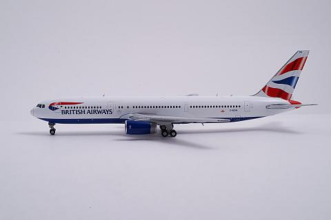JC Wings: Модель самолета Boeing 767-300ER British Airways 1:400