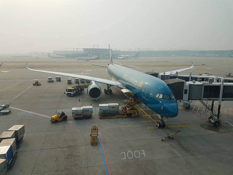 Сеул-Хошимин на А350 от Vietnam Airlines!