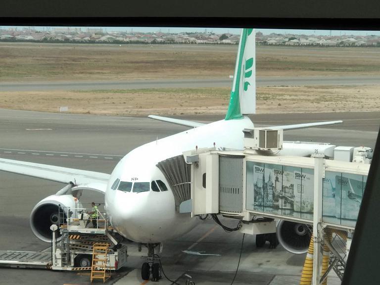 Баку-Тегеран с Mahan Air на Airbus A310