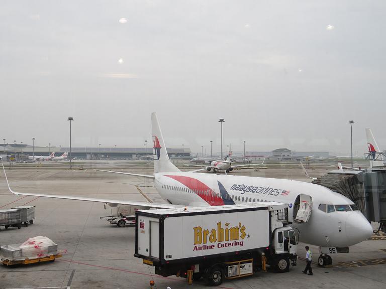 Куала-Лумпур - Лангкави, рейс МН 1430, а/к Malaysia airlines