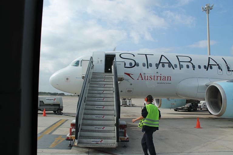 Санкт-Петербург - Вена - Барселона с Austrian Airlines (часть 1)