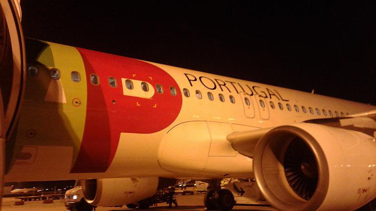 Вояж на край Европы. Часть 3 Лиссабон-Москва с TAP Portugal