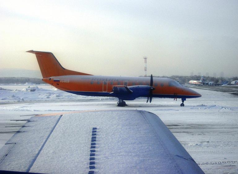 Региональный перелёт из Азии в Европу: Екатеринбург-Пермь на Embraer-120 «РусЛайна»