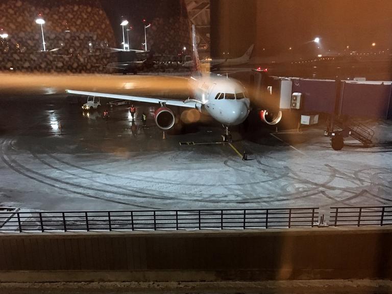 Москва - Санкт-Петербург с авиакомпанией Россия.