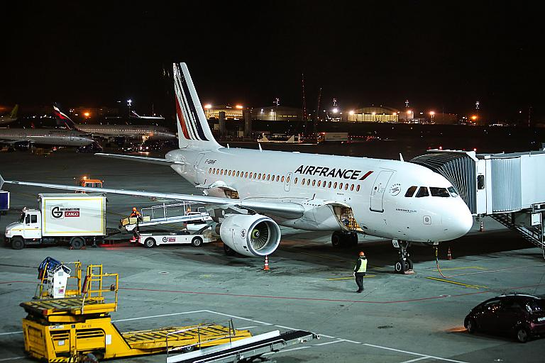 Париж-Москва на Airbus A319 Air France