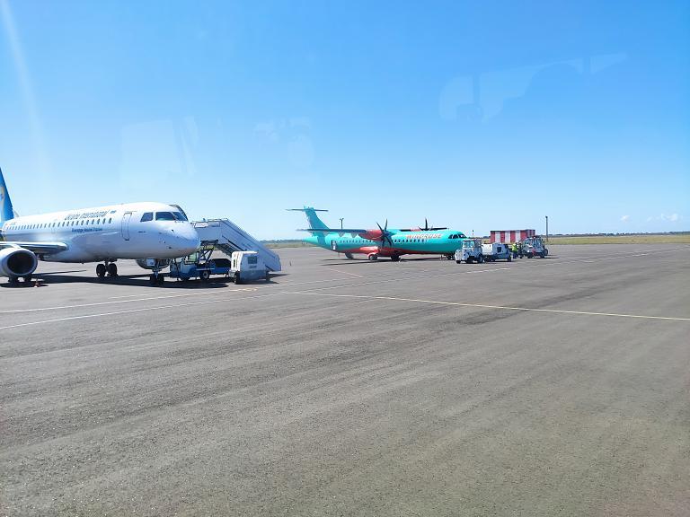 Пока Одесса. Одесса (ODS) - Киев (KPB) Windrose ATR72-600