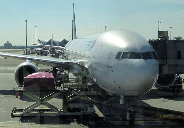 Bangkok-Singapore with Thai Airways
