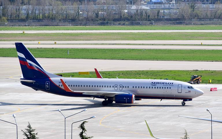 Сочи - Москва, Аэрофлот, Boeing 737-8LJ(WL),VP-BON (Н. Бердяев)