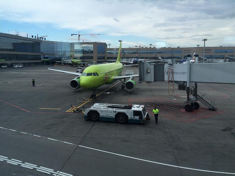 Москва (DME) - Волгоград (VOG) на А319 S7 Airlines!