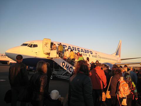 Фотообзор полета на самолете Boeing 737-400