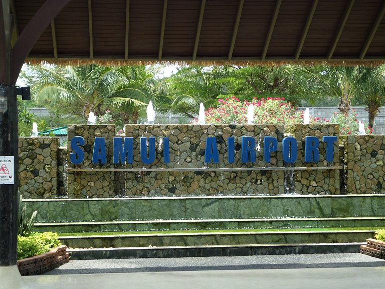 Bangkok air Самуи-Бангкок май 2014